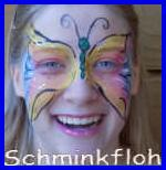 Bunter Schmetterling